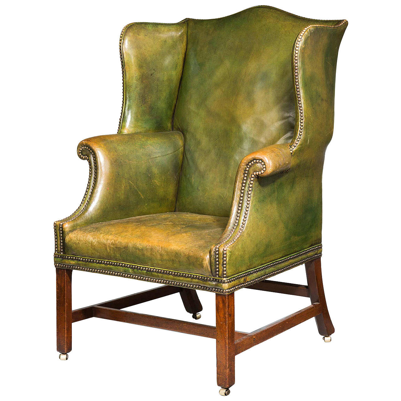 Wing Chair Chippendale Period Wing Chair For Sale At 1stdibs