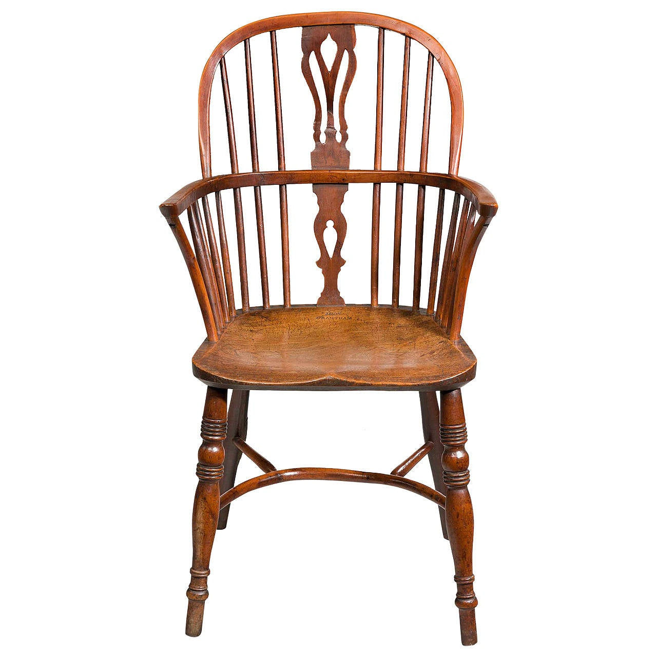 tree branch rocking chair best home computer early 19th century yew windsor by john amos at
