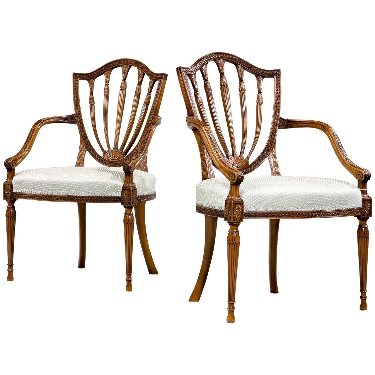 elbow chair stool design your own pair of george iii period satinwood chairs for sale