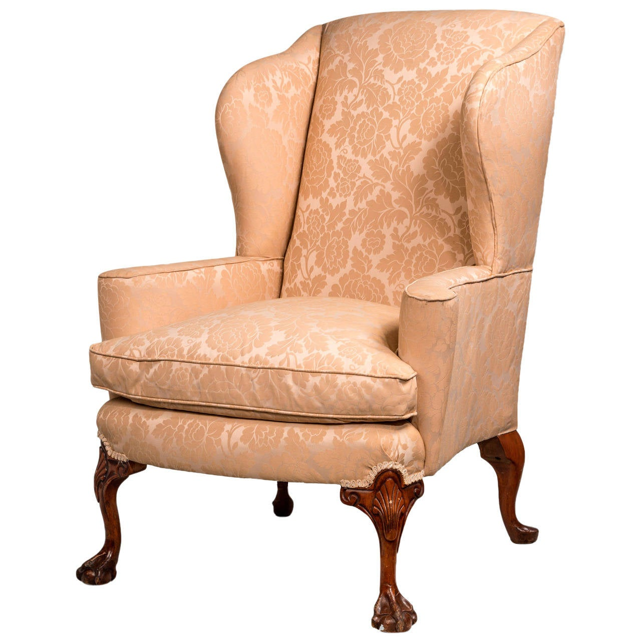 wing chairs on sale how to paint plastic george ii design walnut framed chair for at 1stdibs