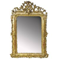 19th Century Majestic Mirror Elizabethan For Sale at 1stdibs