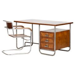 Bauhaus Swivel Chair Coca Cola Chairs And Tables Italian Desk By Marcel Breuer 1930s At