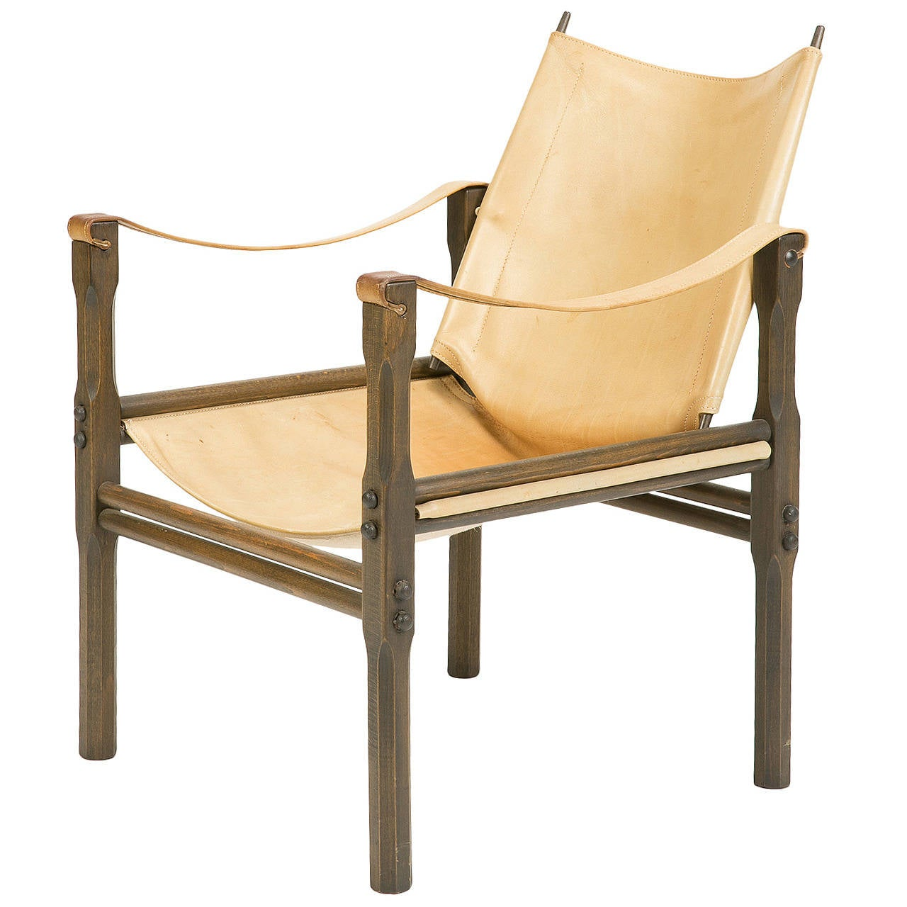 Safari Chair Safari Chair Attributed To Franco Legler By Zanotta 1950s