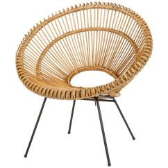 Where To Buy Wicker Chairs Baby Walking Chair French Attributed Janine Abraham And Dirk