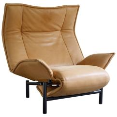 Veranda Chair Design King Sale Leather Lounge By Vico Magistretti At 1stdibs