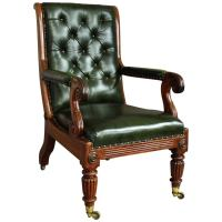 Antique Library Chairs | Antique Furniture