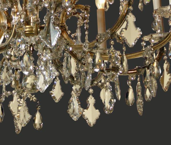 Lobmeyr Viennese Maria Theresa Chandelier For Sale at 1stdibs