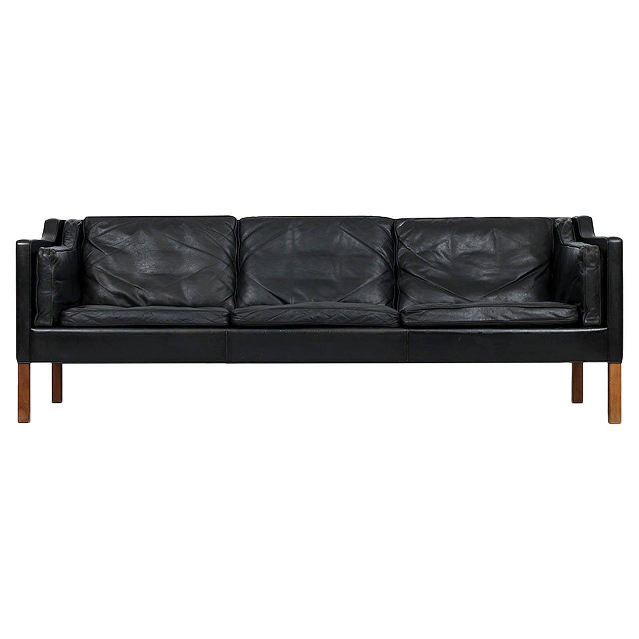 borge mogensen sofa model 2209 corner cover børge 2213 leather by fredericia stolefabrik ...