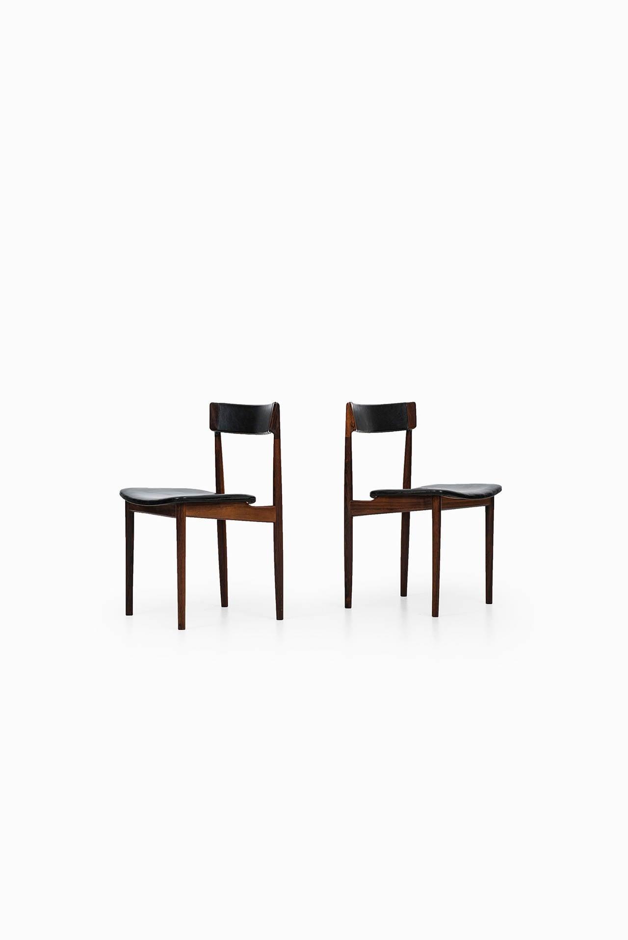 Henry Rosengren Hansen Dining Chairs Model 39 By Brande