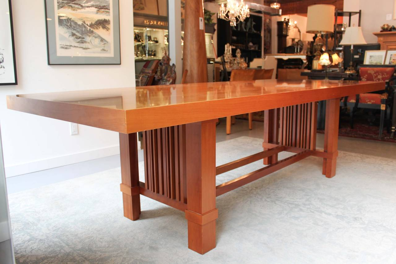 Taliesin 2 Dining Table by Frank Lloyd Wright for