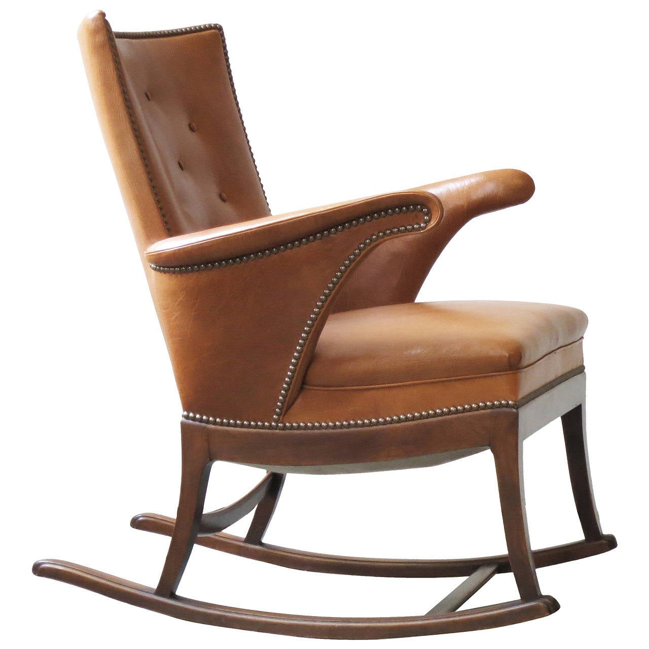 cheap modern rocking chair kitchen bar chairs uk 1930s by frits henningsen for sale at 1stdibs