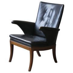 Arm Chairs For Sale Peacock Hanging Chair 1930s Armchair In Original Black Leather By Frits