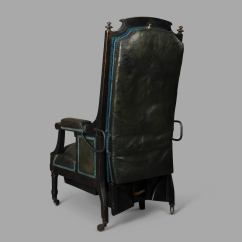 Fishing Chair For Bad Back What Are Plastic Chairs Made Out Of Medical Mechanical Armchair Circa 1870 At 1stdibs