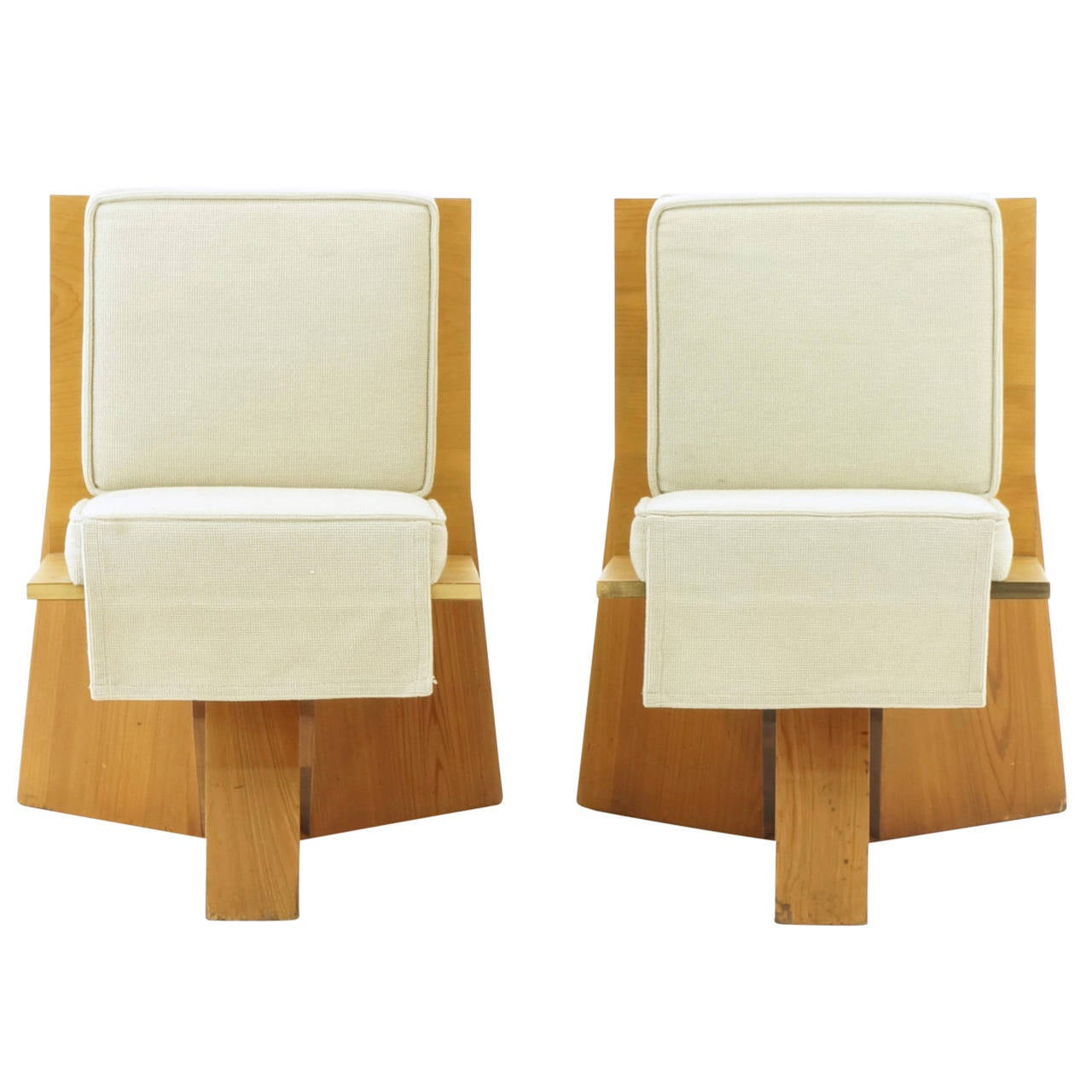 Frank Lloyd Wright Chairs Pair Of Frank Lloyd Wright Chairs From The Sondern House