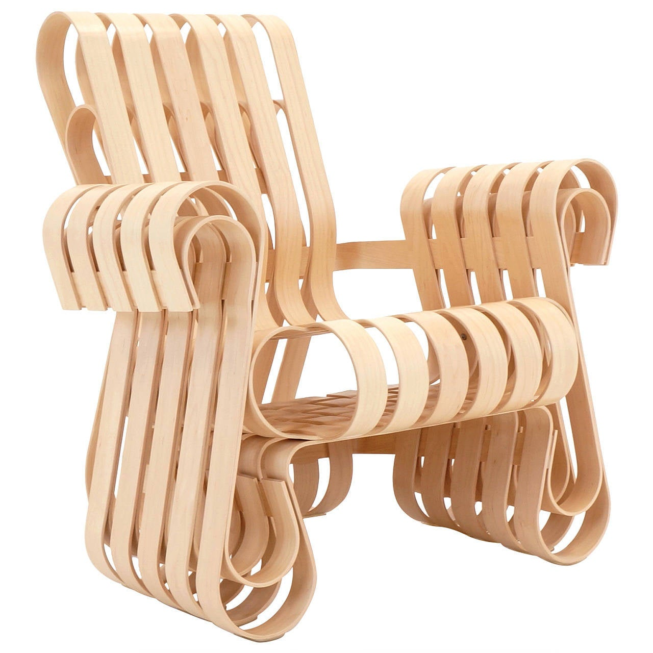 frank gehry chair outdoor lounge power play for knoll brand new