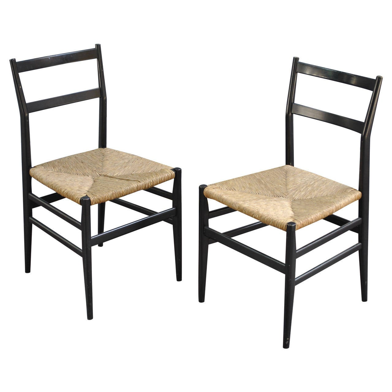 gio ponti chair sure fit dining cover iconic pair of leggera chairs by at 1stdibs
