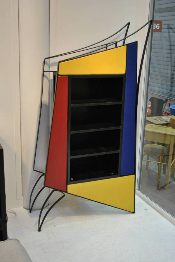 Of-kind Architectural Display Cabinet Cyrille