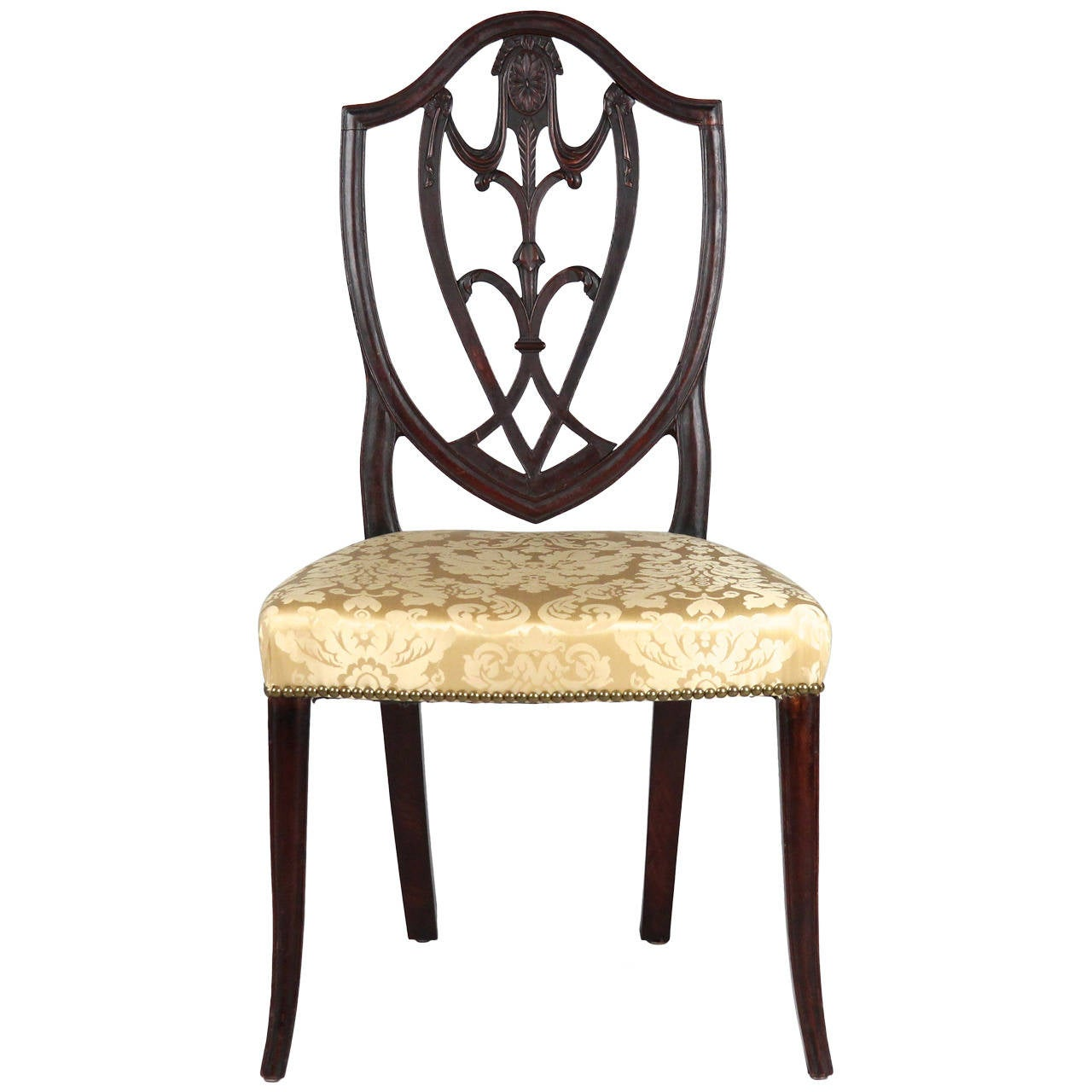 american furniture chairs kitchen chair cushions canada exceedingly fine federal antique side new