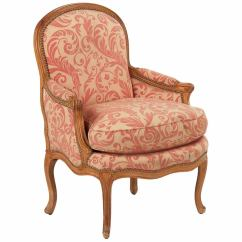 Bergere Chairs Diy Chair Bows French Louis Xv Carved Beechwood Antique Armchair