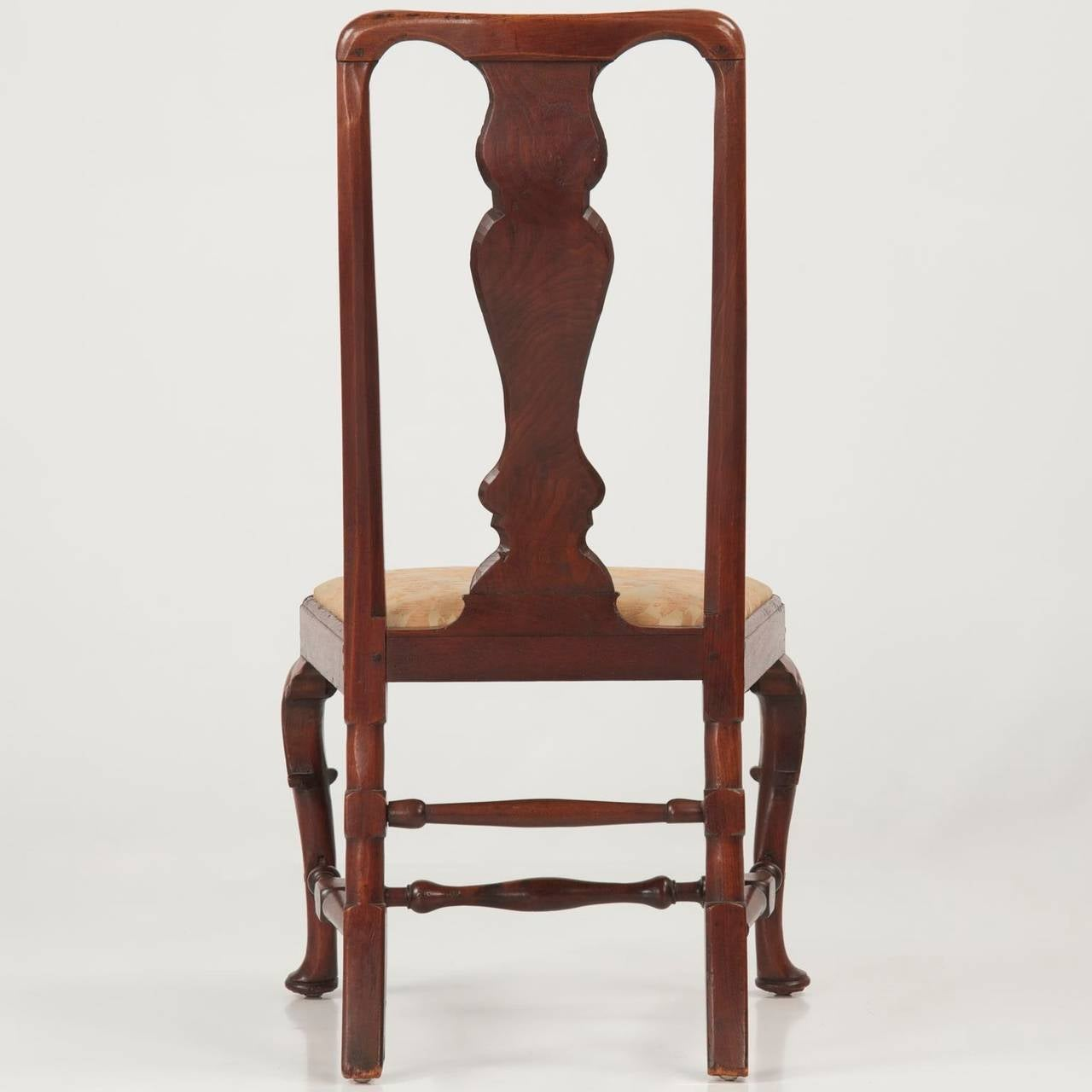 antique queen anne chair office lounge walnut side circa 1725 1740 at