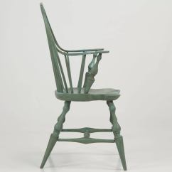 Windsor Style Chairs What Is A Geri Chair Used For American Continuous Arm 20th Century