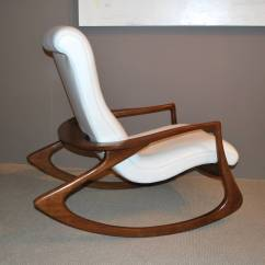 Vladimir Kagan Rocking Chair Tub Chairs Quotcontour Quot In Leather At 1stdibs