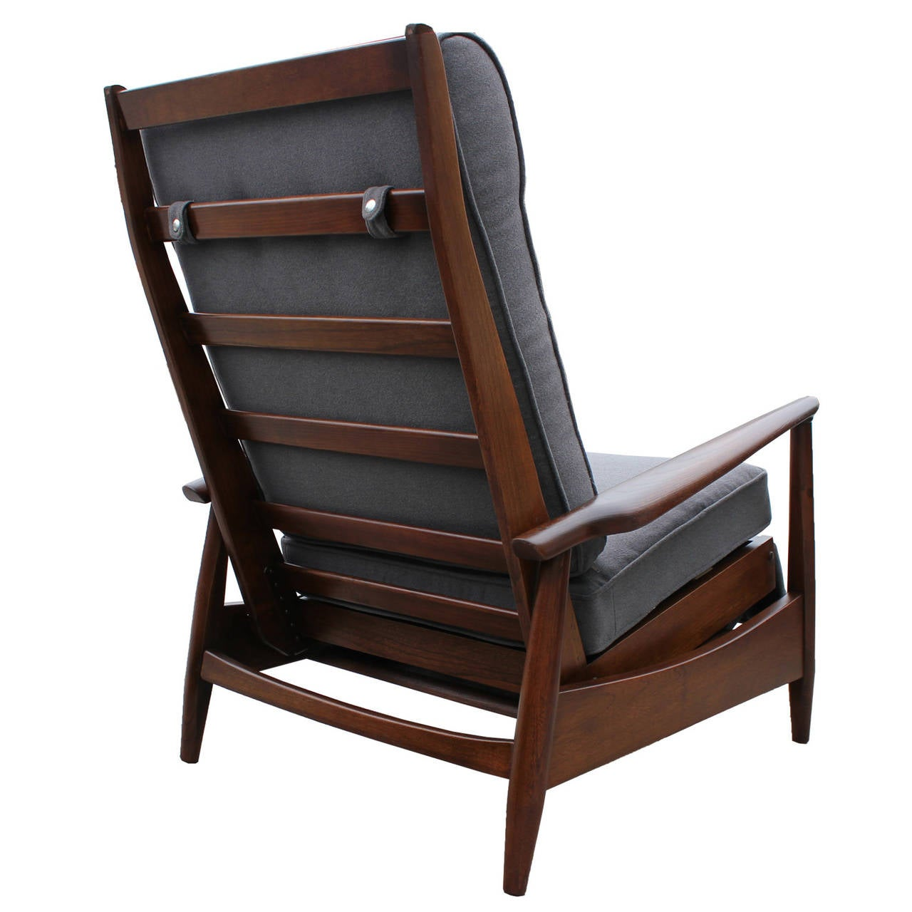 swedish leather recliner chairs kd smart chair reviews scandinavian reclining lounge at 1stdibs