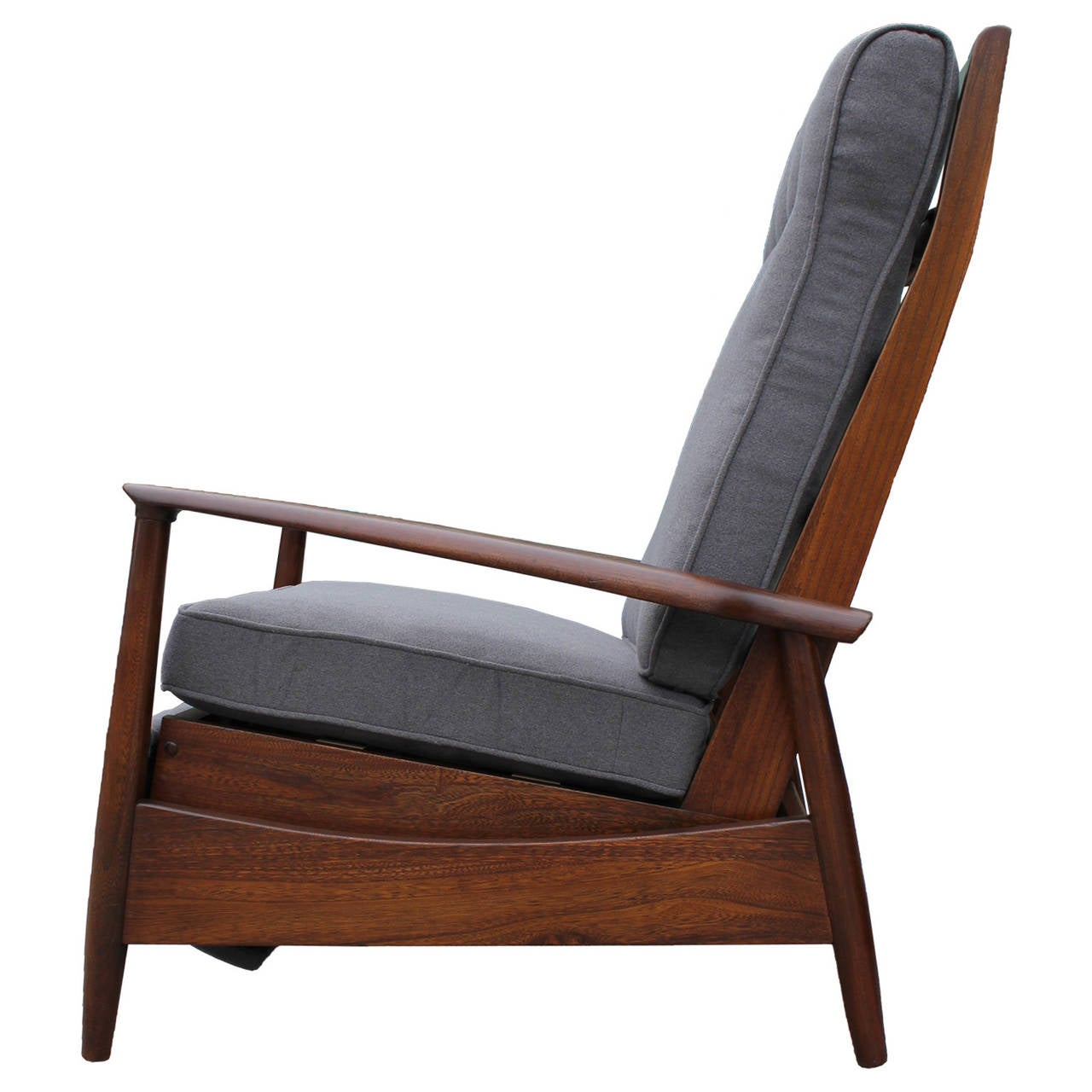 Reclining Lounge Chair Scandinavian Reclining Lounge Chair At 1stdibs