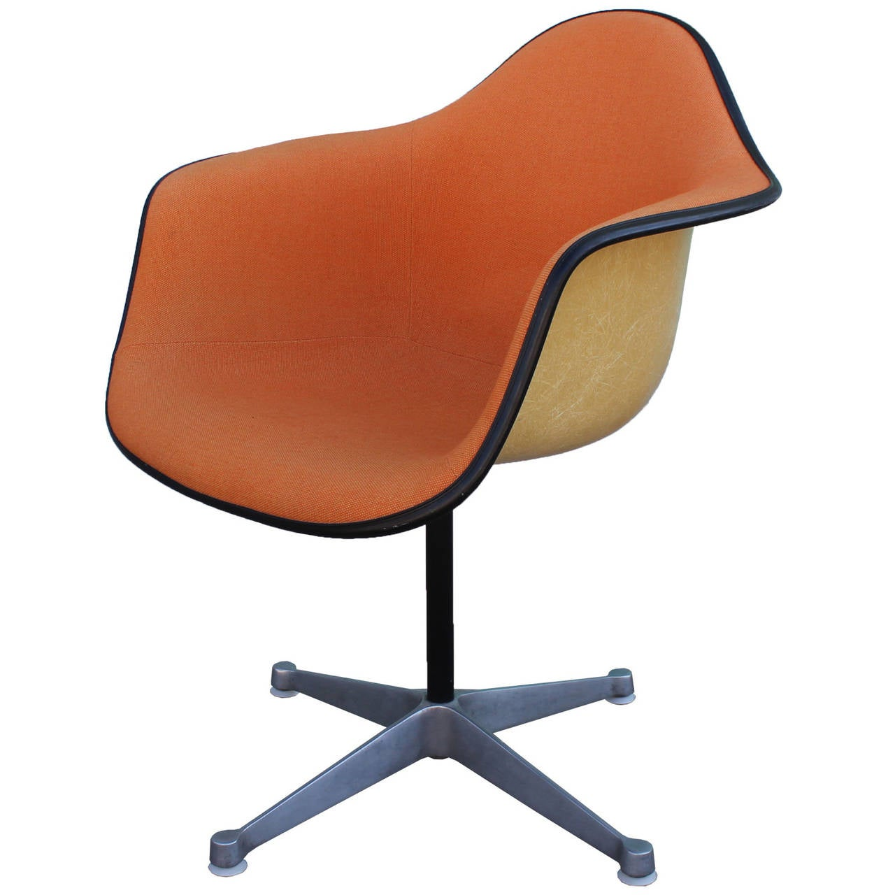 eames bucket chair retro diner chairs uk pair of herman miller swivel at 1stdibs