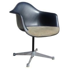 Metal Bucket Chairs Posture Chair Support Set Of Four Herman Miller Eames Swivel At