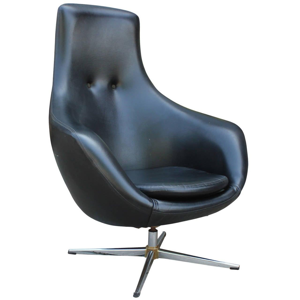 mid century egg chair hanging umbrella modern overman style swivel in black