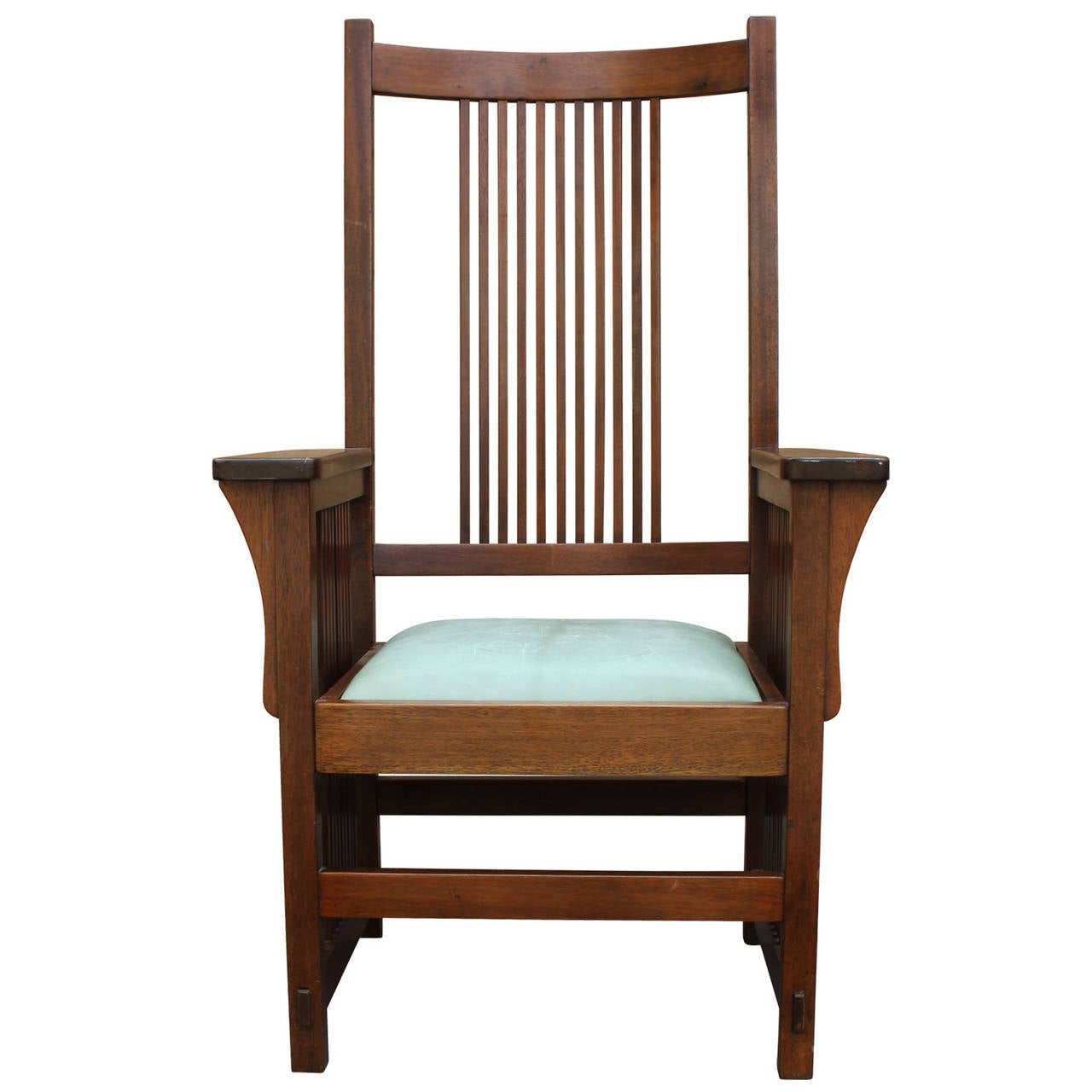 Frank Lloyd Wright Chairs Frank Lloyd Wright Style Armchair At 1stdibs