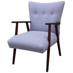 Grey Lounge Chair Herman Miller Parts Elegant Danish At 1stdibs