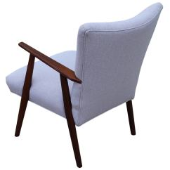 Grey Lounge Chair Leather Repair Elegant Danish At 1stdibs