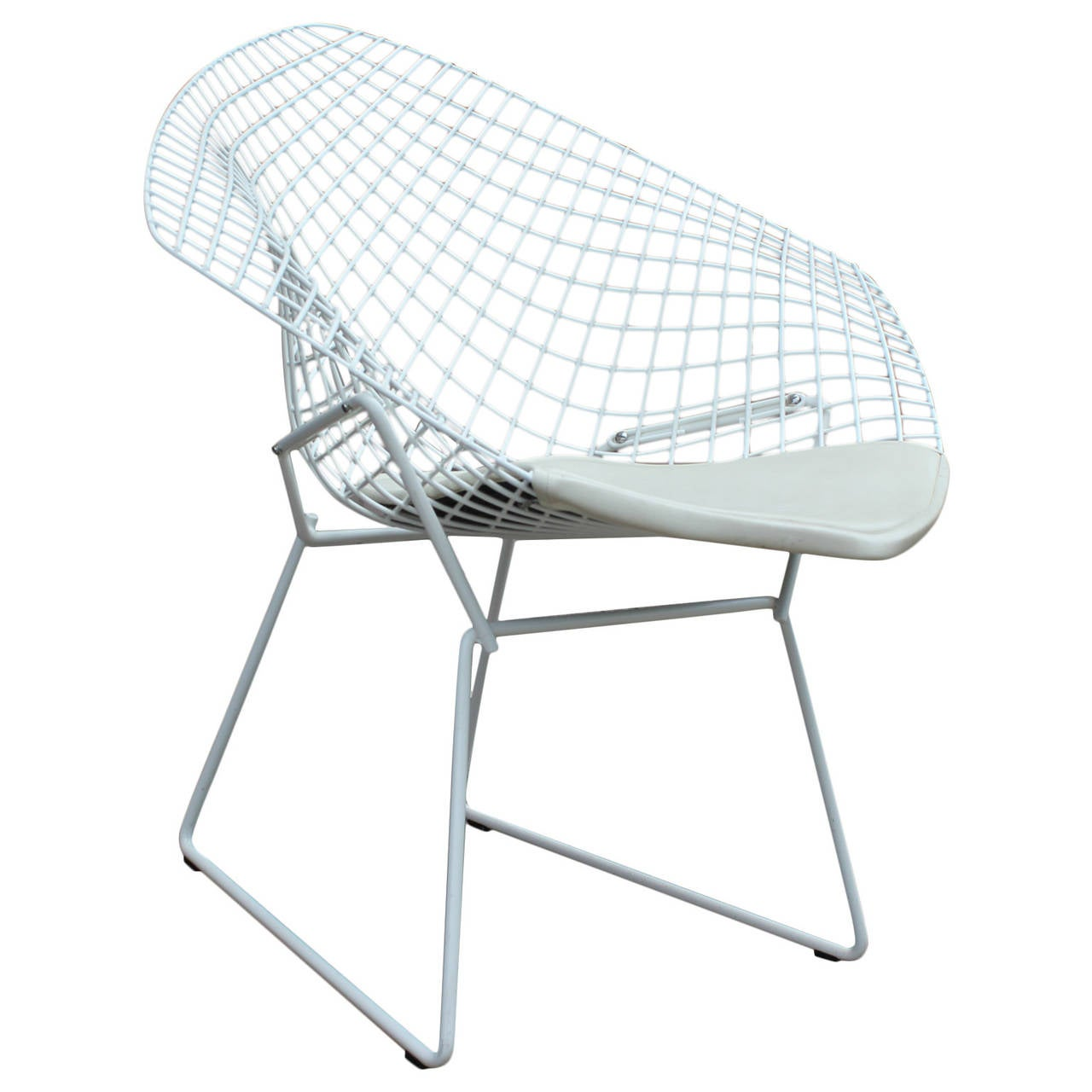 Harry Bertoia Chair White Diamond Chair By Harry Bertoia For Knoll At 1stdibs