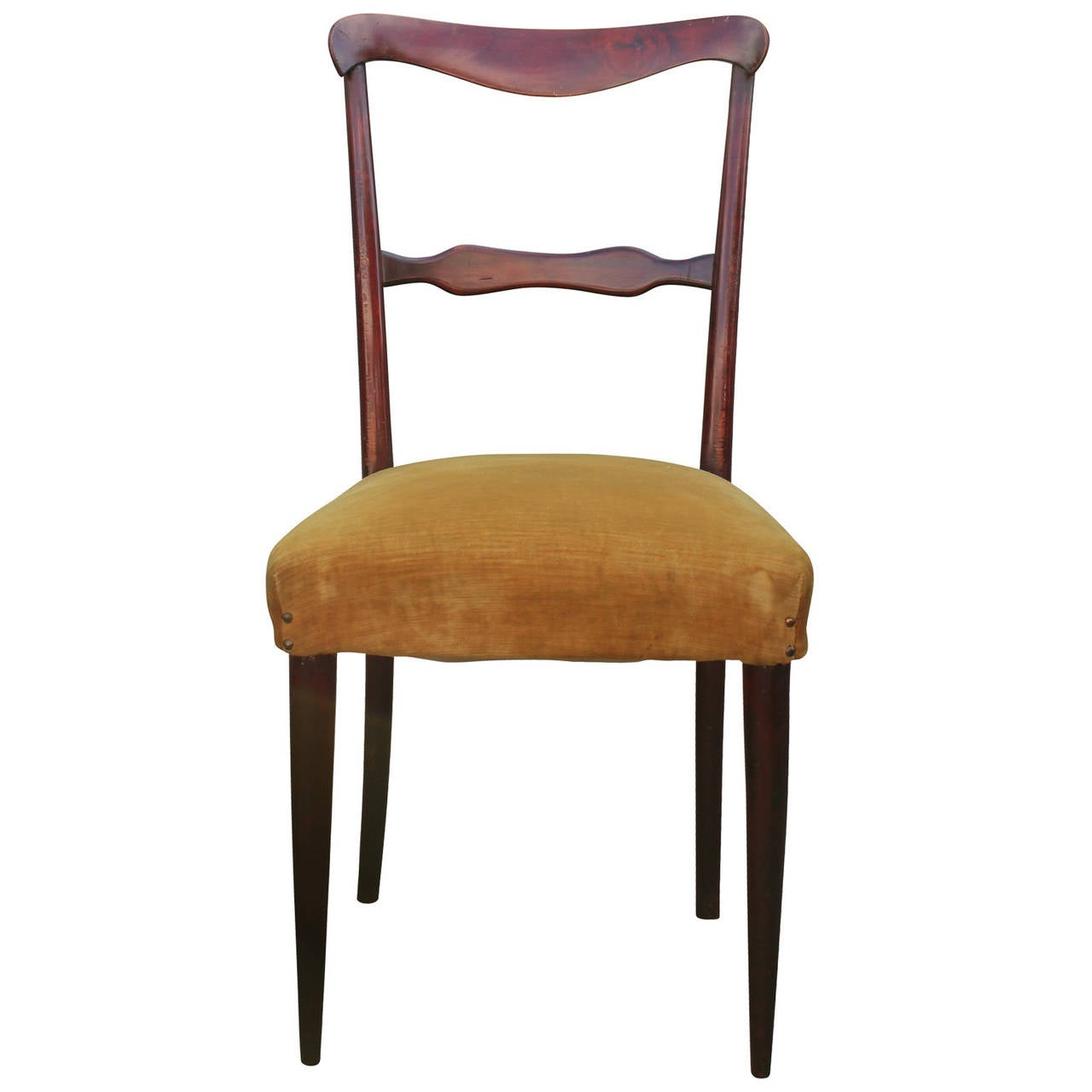 Italian Dining Chairs Set Of Six Italian Dining Chairs At 1stdibs