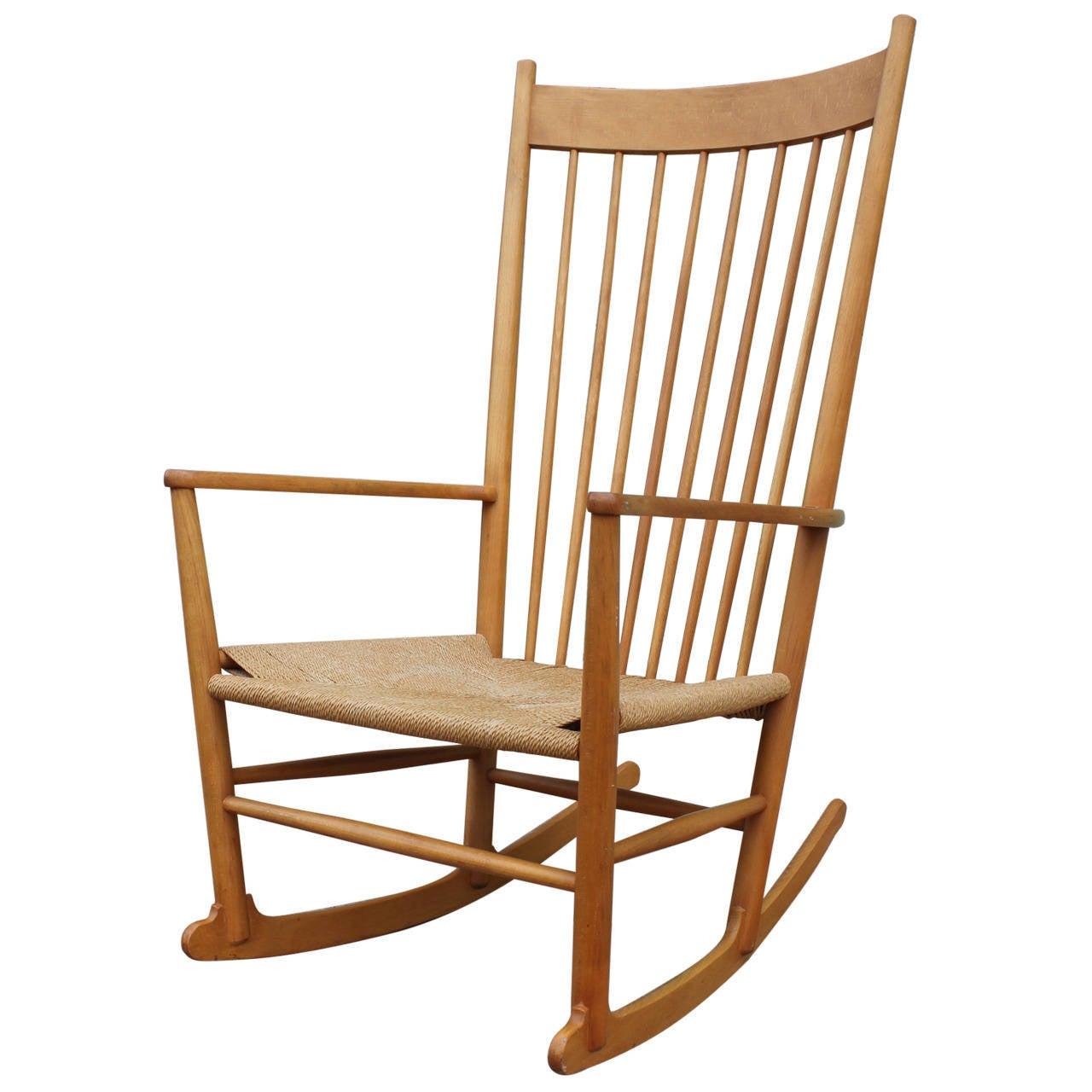 hans wegner rocking chair how to make bags for school j16 at 1stdibs