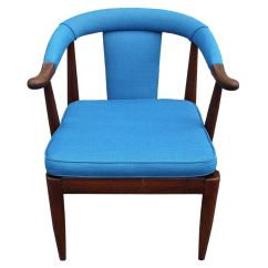 Turquoise Side Chair Victorian Parlor Chairs Horseshoe At 1stdibs