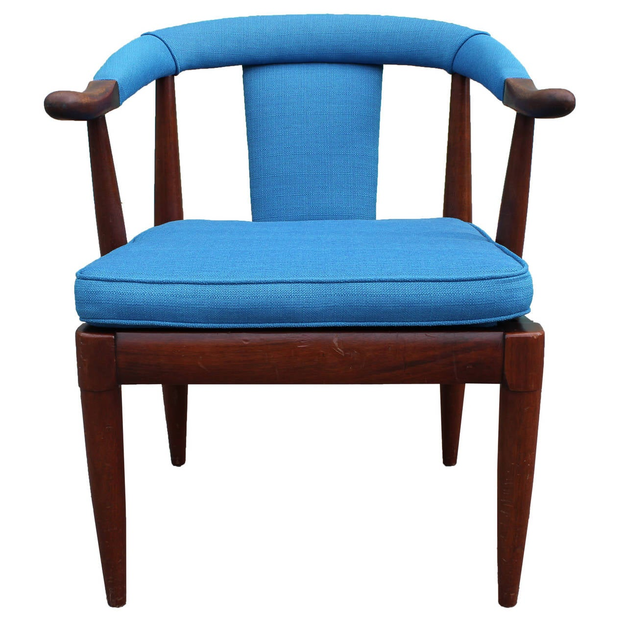 Turquoise Side Chair Turquoise Horseshoe Side Chair At 1stdibs