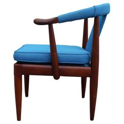 Turquoise Side Chair Wheelchair Accessible Van Horseshoe At 1stdibs