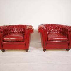 Oxblood Red Chesterfield Sofa Top Rated Sleeper Vintage Leather At 1stdibs