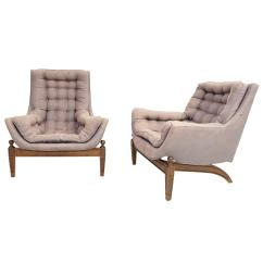 Adrian Pearsall Lounge Chair Folding Gumtree Pair Of Tufted Chairs With Ottoman
