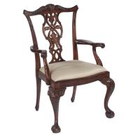 Chippendale Dining Chairs, Set of Ten at 1stdibs