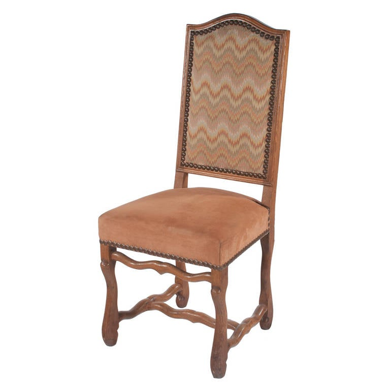 Country French Dining Chairs S8 at 1stdibs