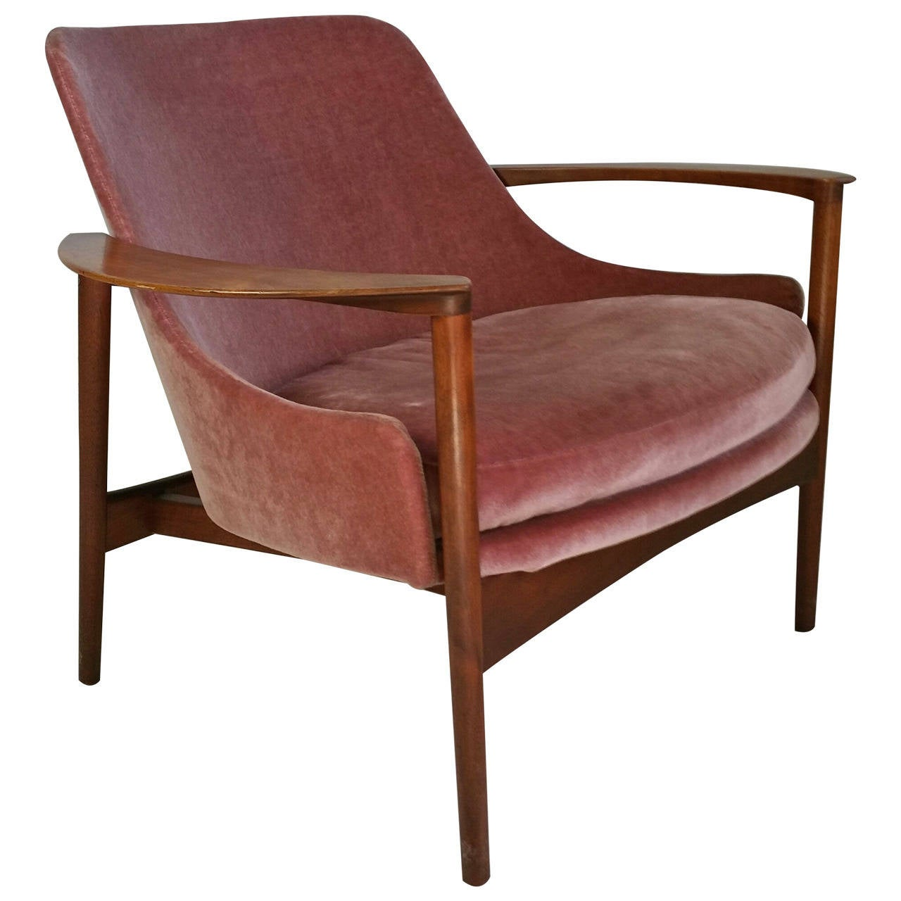 Selig Lounge Chair Lounge Chair By Kofod Larsen For Selig Denmark At 1stdibs