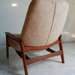 Mid Century Egg Chair Booster Cushions For Elderly Teak Floating By R Huber And Co
