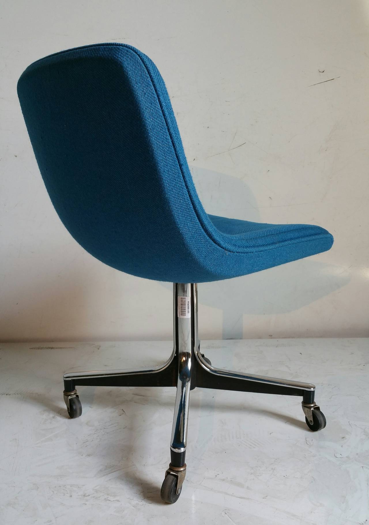 Roller Chairs Goodform Rolling Desk Chair Mid Century Modern At 1stdibs