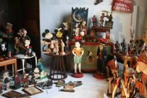 Rare Cartoon Folk Art Collection Over 100 Pieces