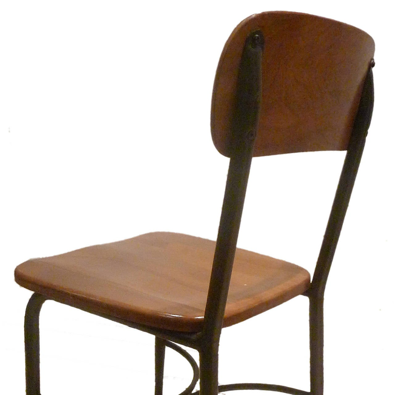 heywood wakefield dogbone chairs hanging chair metal stand 8 adult sized vintage and maple