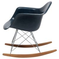 Eames Navy Blue Shell Herman Miller Rocking Chair, 1962 ...